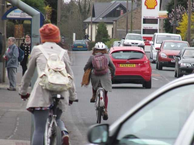 """Lancaster cyclists and pedestrians receive """"poor quality processing"""" from Lancashire County Council, according to the city campaign group Dynamo."""